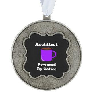 """コーヒーによって動力を与えられる""""建築家"""" オーナメント"""