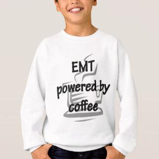 コーヒーによって動力を与えられるEMT スウェットシャツ