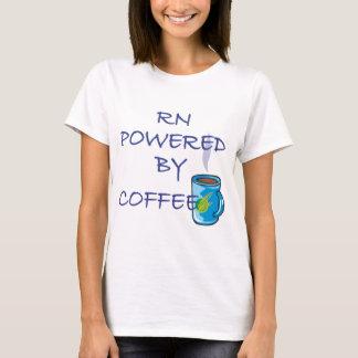 コーヒーによって動力を与えられるRN Tシャツ