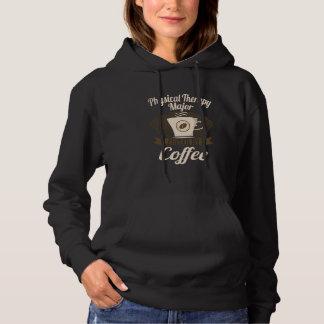 コーヒーによって燃料を供給されるフィジカルセラピーの専攻学生 パーカ