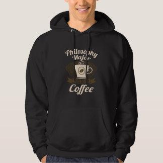 コーヒーによって燃料を供給される哲学の専攻学生 パーカ