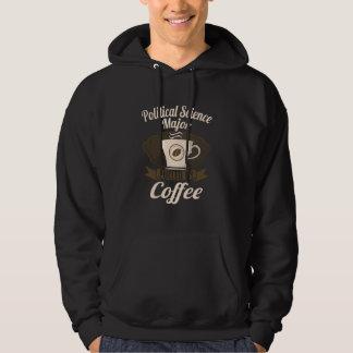 コーヒーによって燃料を供給される政治学の専攻学生 パーカ