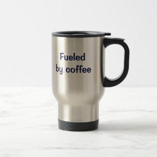 コーヒーによって燃料を供給される トラベルマグ