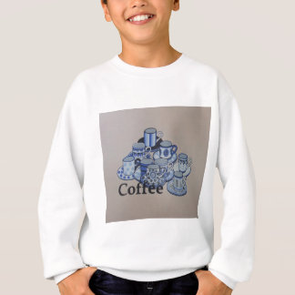 コーヒーのためのだれでも スウェットシャツ