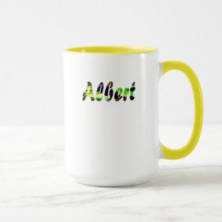 コーヒーのためのアルバートの薄黄色のマグ マグカップ