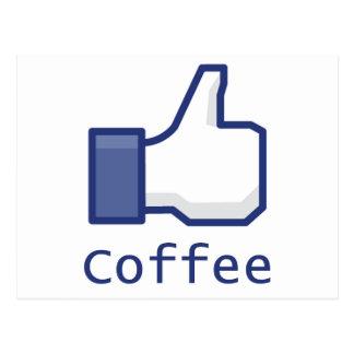 コーヒーのように ポストカード