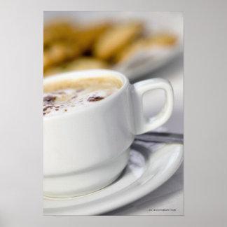 コーヒーのクローズアップ ポスター
