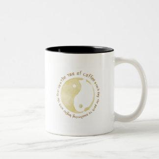 コーヒーのタオ ツートーンマグカップ