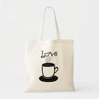 コーヒーの愛 トートバッグ
