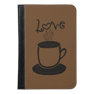 コーヒーの愛 iPad MINIケース