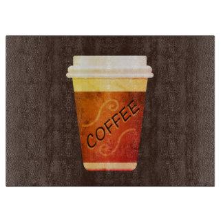 コーヒーの時間 カッティングボード