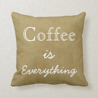 コーヒーはすべてです クッション