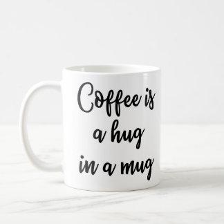 コーヒーはマグのマグの抱擁です コーヒーマグカップ
