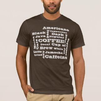 コーヒーはワイシャツを名づけます Tシャツ