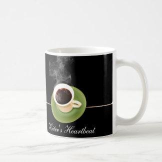 コーヒーは作家の心拍です コーヒーマグカップ