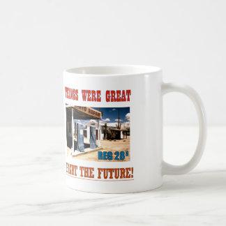 コーヒーは取り引きでしたも! コーヒーマグカップ