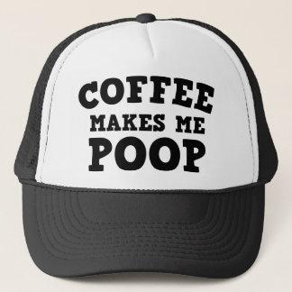 コーヒーは私にウンチをします キャップ