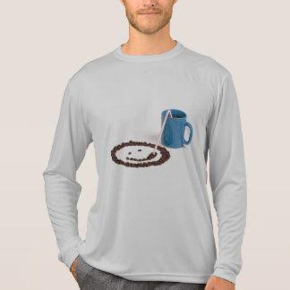 コーヒーは私の幸せです Tシャツ