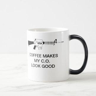 コーヒーは私のC.O. LOOK GOODをを作ります マジックマグカップ