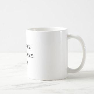 コーヒーは私をインスパイア コーヒーマグカップ