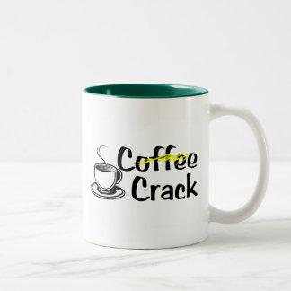 コーヒーひび ツートーンマグカップ