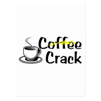 コーヒーひび ポストカード