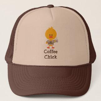 コーヒーひよこの帽子 キャップ