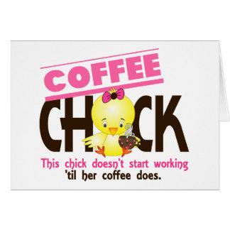 コーヒーひよこ3 カード