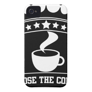 コーヒーを選んで下さい Case-Mate iPhone 4 ケース