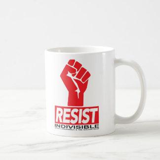 コーヒーカップに抵抗して下さい コーヒーマグカップ
