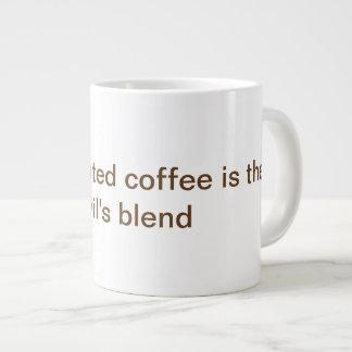 コーヒーカップのためのコーヒーことわざ ジャンボコーヒーマグカップ