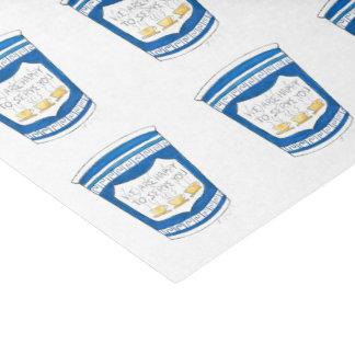 コーヒーカップのティッシュに役立つこと幸せなNYCのギリシャのダイナー 薄葉紙