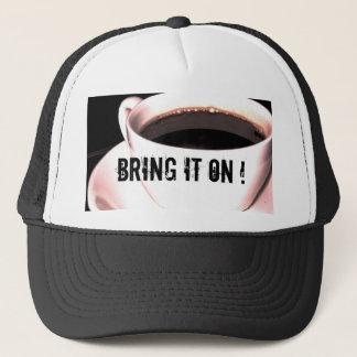 コーヒーカップのトラック運転手の帽子 キャップ