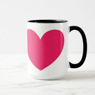 コーヒーカップのハート マグカップ