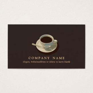 コーヒーカップの名刺 名刺
