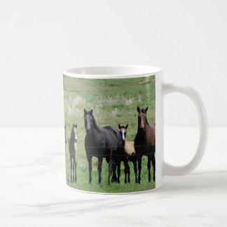 コーヒーカップ-ロバ及び子馬 コーヒーマグカップ
