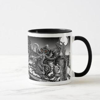 """コーヒーギフト- Arkhamの""""深い1""""のコーヒー・マグ マグカップ"""