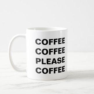 コーヒーコーヒーコーヒー コーヒーマグカップ