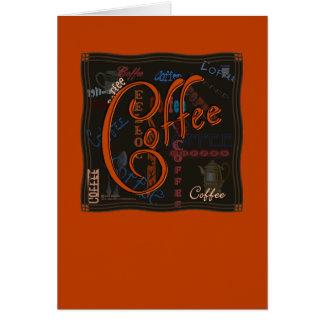 コーヒースパイス カード