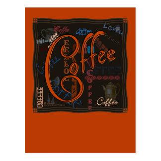 コーヒースパイス ポストカード