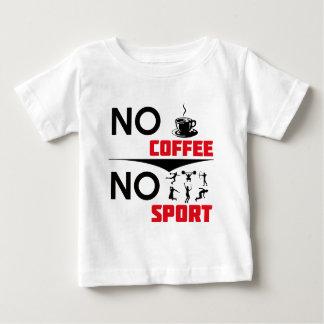 コーヒースポーツのデザイン ベビーTシャツ