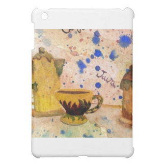 コーヒーセット- CricketDianeのコーヒー民芸 iPad Miniケース