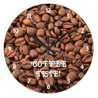 コーヒータイムレコーダー ラージ壁時計