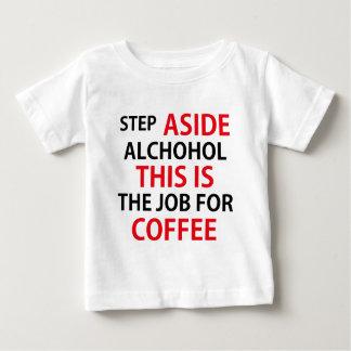 コーヒーデザイン ベビーTシャツ