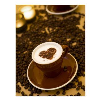 コーヒーハート ポストカード