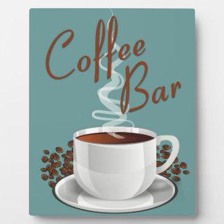 コーヒーバーの印 フォトプラーク