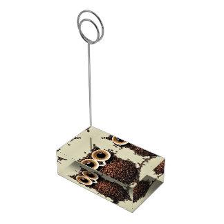 コーヒーフクロウ テーブルカードホルダー