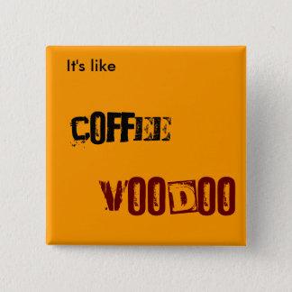 コーヒーブードゥー 缶バッジ