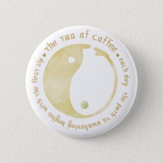 コーヒーボタンのタオ 5.7CM 丸型バッジ