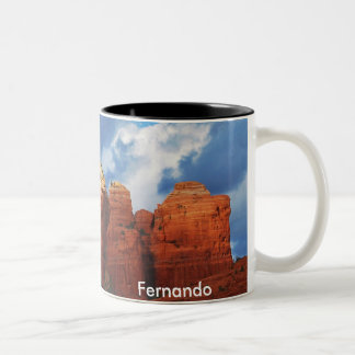 コーヒーポットの石のマグのフェルナンド ツートーンマグカップ